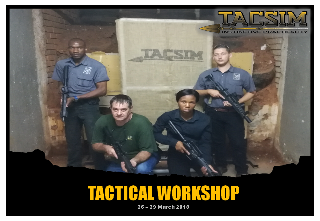TACSIM Tactical Workshop 26 to 29 March 2018
