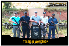 TACSIM Tactical Workshop 22 to 26 January 2018